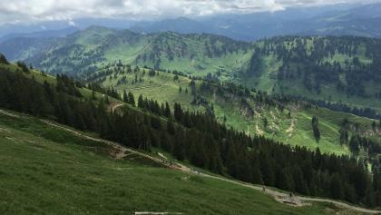 Blick vom Hochgrat nach Süden