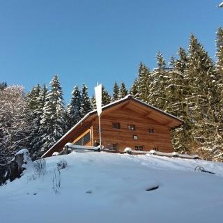 FritzPutzHütte im Winter