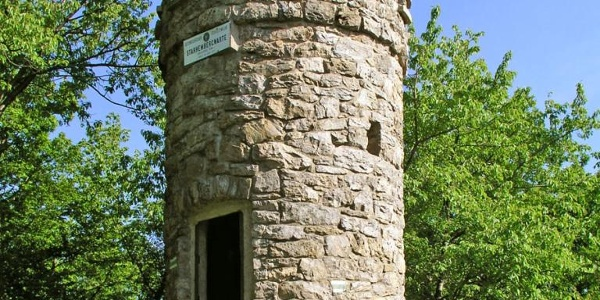 Starhembergwarte des ÖTK in der Wachau, oberhalb von Dürnstein