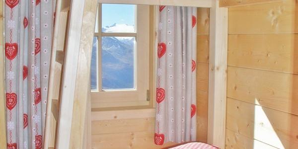 Romantisches Zimmer mit Stockbett
