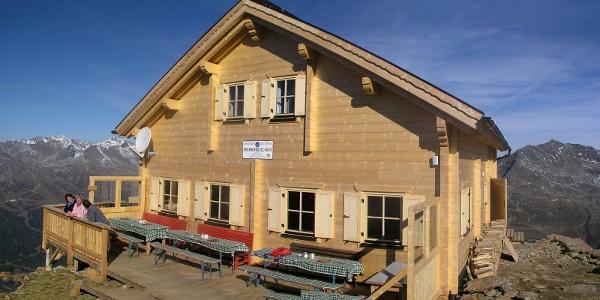 Neubau des Brunnenkogelhauses im Jahr 2007