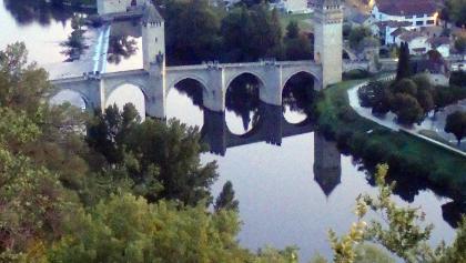 Cahors / Caur: Pont Valentré über den Lot