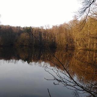 Kleiner See in der Nähe der Agger