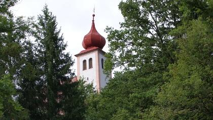 Heiliger Berg_Zwiebelturm der Kirche
