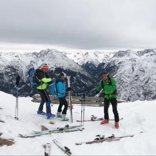 Skitour Jöchel Spitze - Lechtal