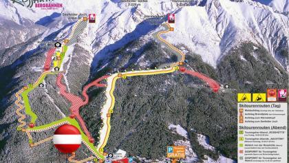 Rosshütte Aufstiegsituation Tag oder Nacht Flagge