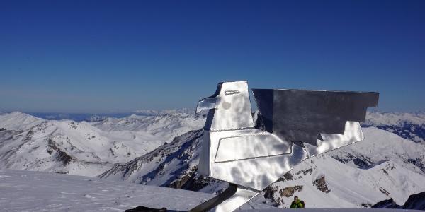 """Geier - mal ein anderes """"Gipfelkreuz"""""""