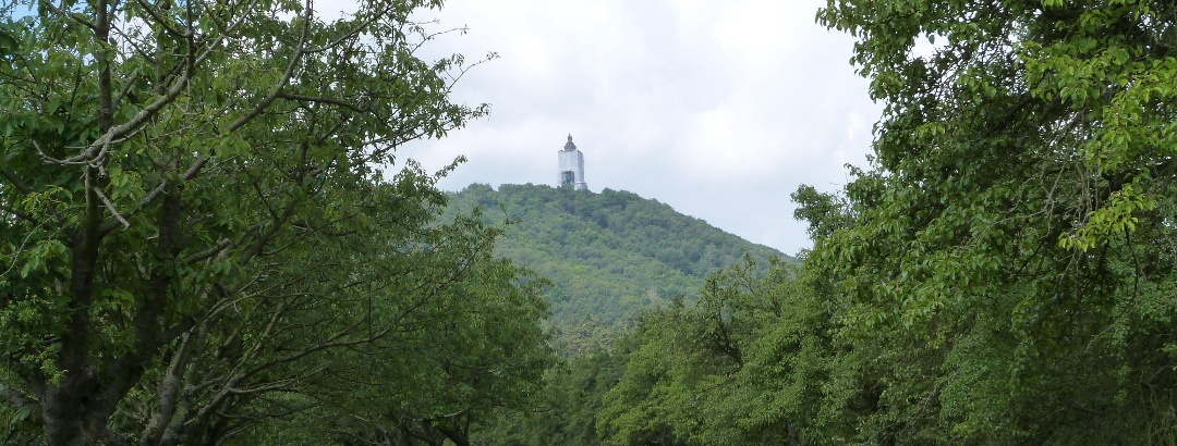View to the Kyffhäuser Monument
