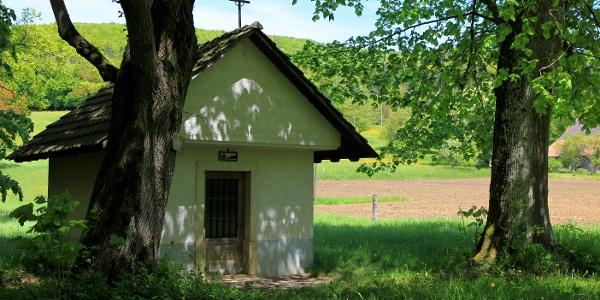 Kapelle am Kreuzweg von Kleinlützel zum Remelberg.