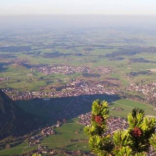 Wanderweg Sagengipfel - Pfronten im Allgäu