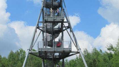Glückauf-Turm in Oelsnitz/Erzgeb.