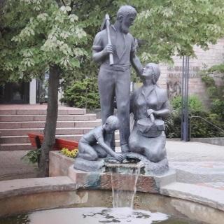 Holzlandbrunnen