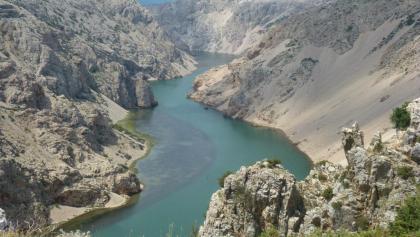"Die ""Pueblo Hochebene"" oberhalb des Zrmanja Canyons"