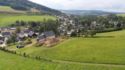 Blick auf Markersbach aus der Erzgeb. Aussichtsbahn