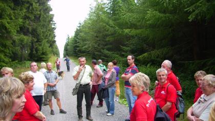 Wanderung in Carlsfeld