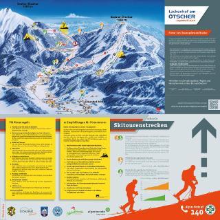 Infotafel Skitouren am Ötscher