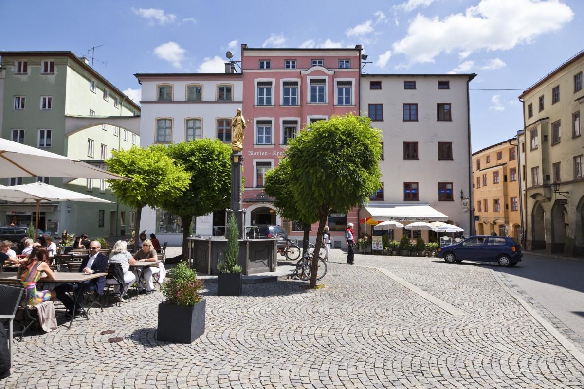 Innenstadt Wasserburg