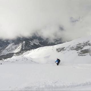 Skitour Pleisenspitze Karwendel