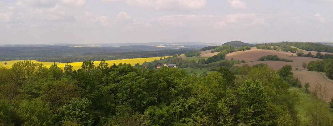 Blick vom Wilisch (Aussichtspunkt)
