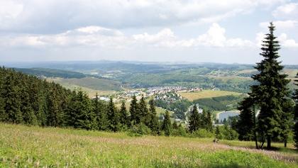 Ausblick  Oberwiesenthal