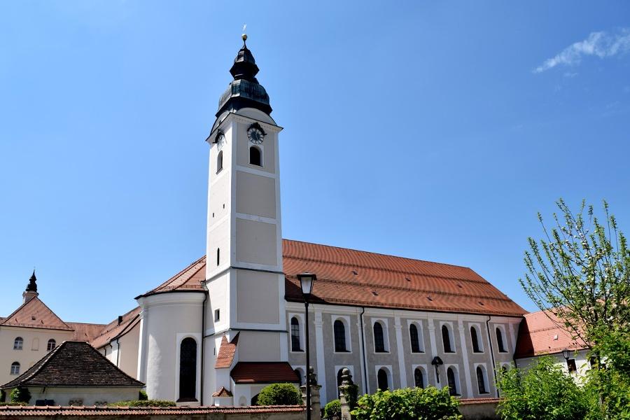Jakobsweg Etappe 15 - Von Wasserburg zur Marienwallfahrtskirche Tuntenhausen