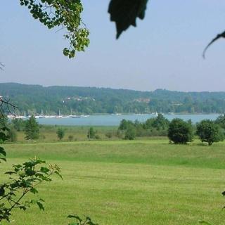 Ein Blick auf den Starnberger See.
