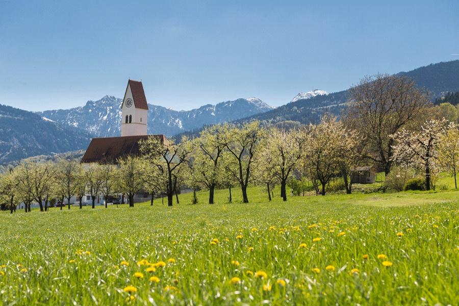 Jakobsweg Etappe 17 - Von Au bei Bad Aibling auf alten Saumpfaden ins Inntal