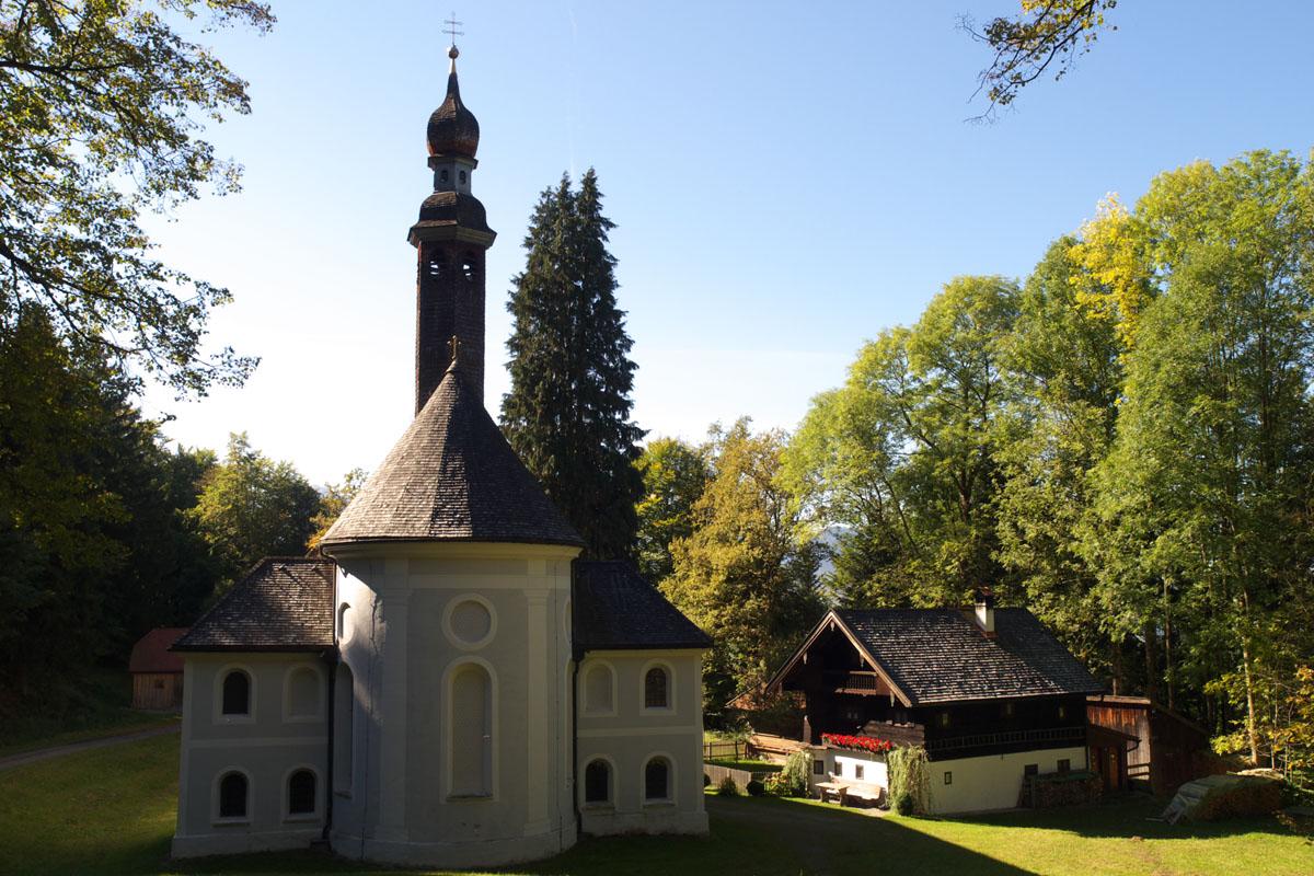 Wallfahrtskirche Mariä Heimsuchung Kirchwald bei Nußdorf am Inn