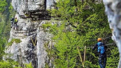 Klettersteig Vogesen : Bourgogne franche comté bei outdooractive.com u2022 reiseführer