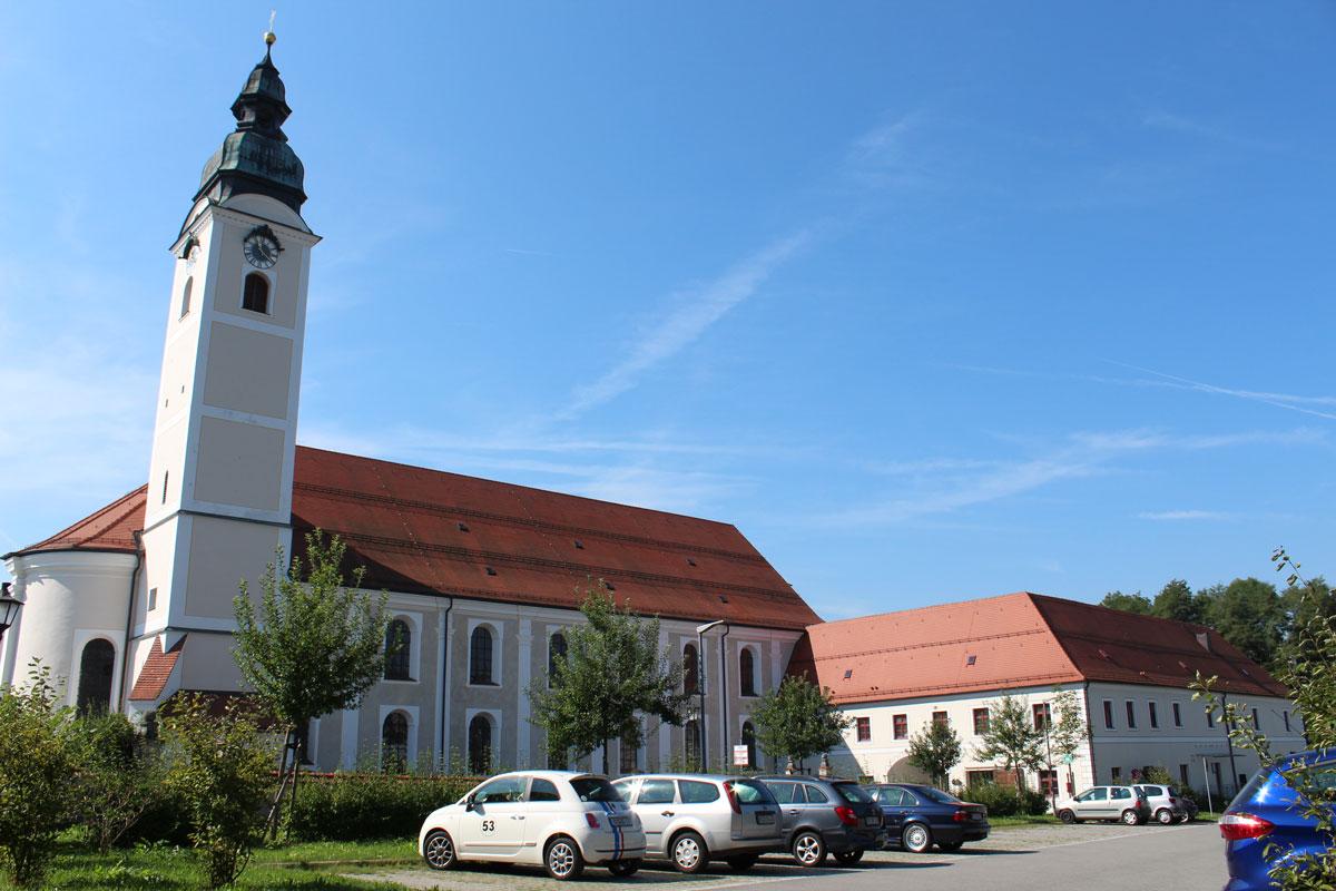 Klosterkirche St. Michael des Kloster Attel
