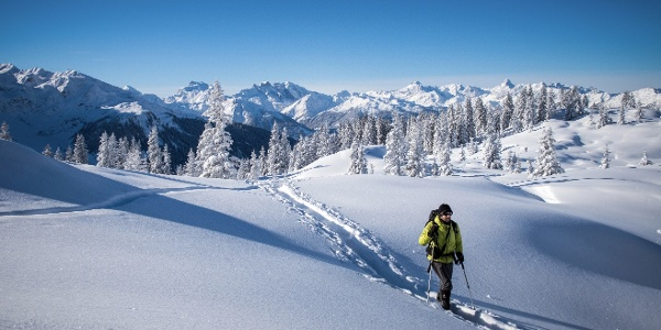 Skitour zum Gipfel Muttjöchle