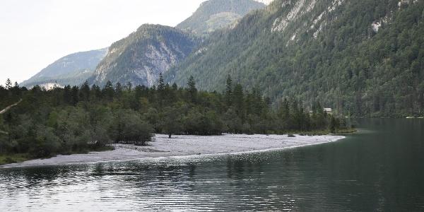 Schwemmfächer des Eisbachs