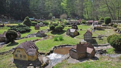 Mühlenplatz in Gieselwerder