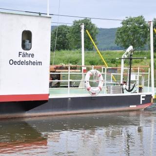 Gierseilfähre in Oedelsheim