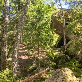 Tiveden Nationalpark Stenkällan