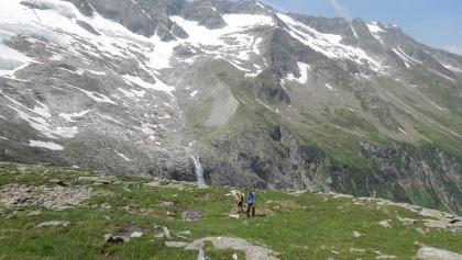 Große Weidalm Übergang zum Gletscher am Habachtalschluß