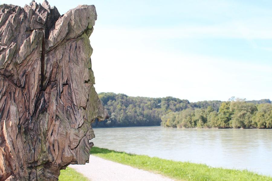 Wandern von Wasserburg aus - Auf dem Skulpturenweg