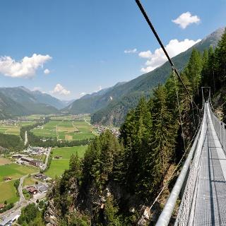 Hängebrücke Längenfeld