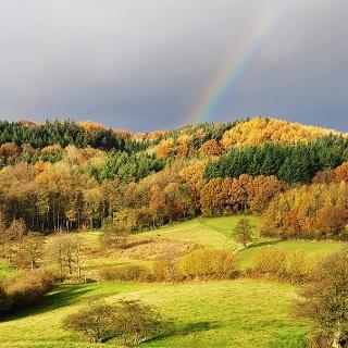 Blick ins Schoothorster Tal