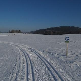 Plateauloipe 32 bei Amesreith - Piberschlag