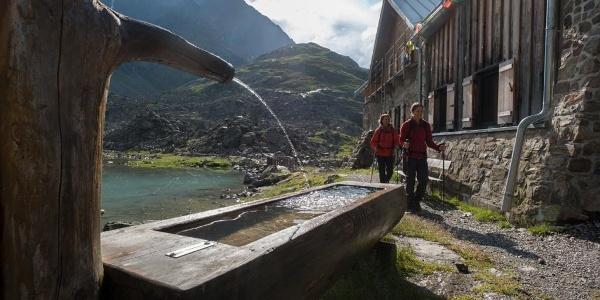 Brunnen bei der Winnebachseehütte
