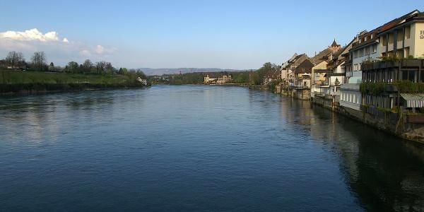 Rhein bei Rheinfelden.