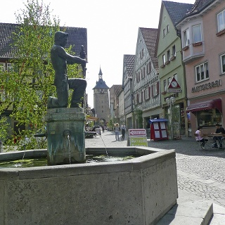 Brunnen in Marbach am Neckar