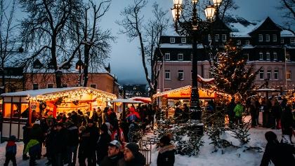 Neujahrsmarkt Kurort Oberwiesenthal