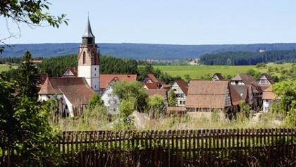 Blick über Dornstetten