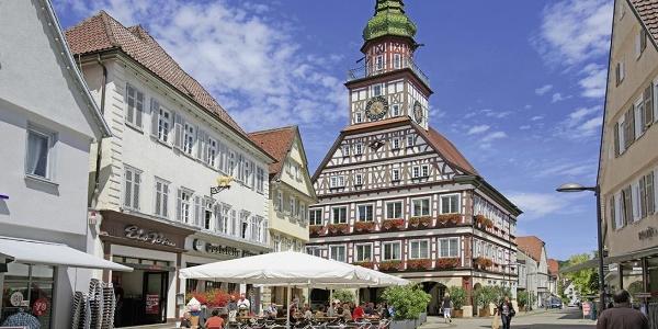 Das Rathaus von Kirchheim