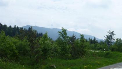 Blick vom Wittig-Parkplatz zur Hornisgrinde