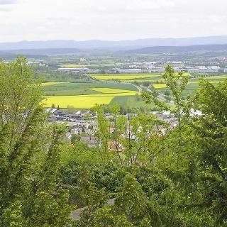 Blick auf Herrenberg