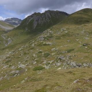 Der Eingang ins Val d'Agnel