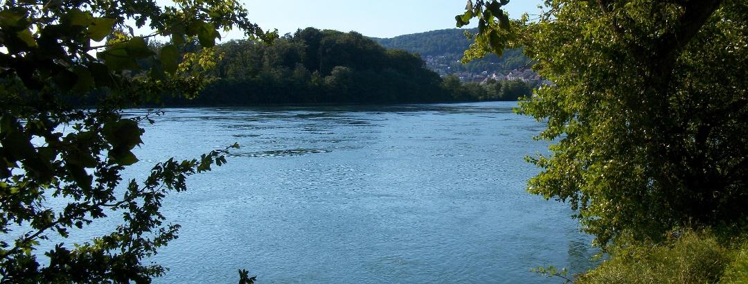 An der Rheinpromenade Waldshut